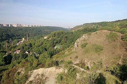 Jak do Prokopské údolí hromadnou dopravou - O místě