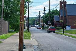 Paintsville's Main Street