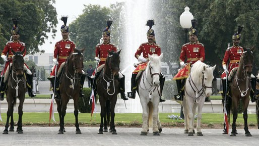 Pakistan cavalry honor guard.jpeg