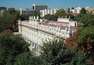 Cayetana Fitz-James Stuart, 18th Duchess of Alba - Palacio de Liria, birthplace of the Duchess as well as her main residence
