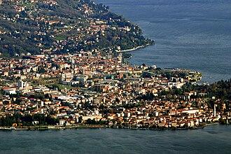 Pallanza - Aerial view of Pallanza