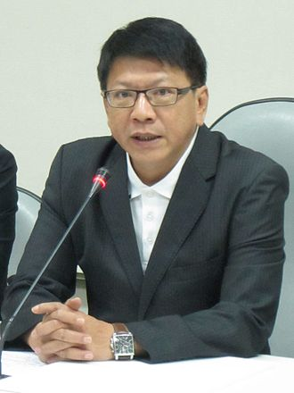 Pingtung County Government - Pan Men-an, the incumbent Magistrate of Pingtung County.