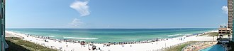 Panama City Beach, Florida - Image: Panama City Beach Panorama