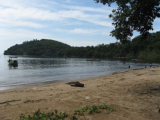 North Kayong Regency - Image: Pantai Pulau Datok