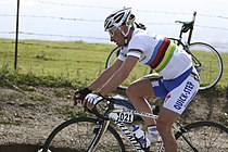 Paolo Bettini won zowel in 2006 als in 2007.