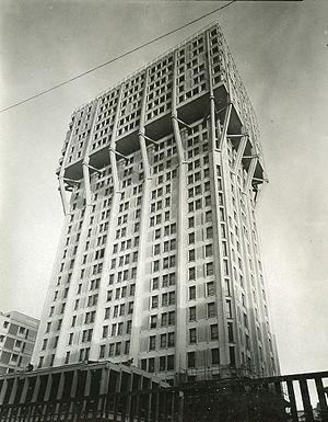 BBPR -  Torre Velasca in Milan, 1958