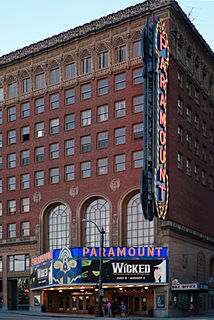 Paramount Theatre (Seattle) theater and movie theater in Seattle, Washington, United States