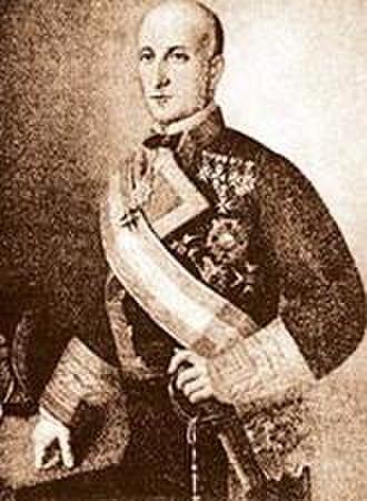 José Manuel Pareja - Vice Admiral José Manuel Pareja (1863-1865)