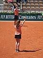 Paris-FR-75-open de tennis-2019-Roland Garros-court Chatrier-ramassuse de balles-1.jpg
