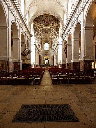 Saint-Roch, Paris - Image: Paris (75001) Église Saint Roch Intérieur 01