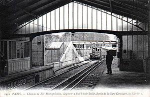 Corvisart (Paris Métro) - The station in 1906
