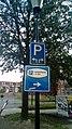 Parking route sign, Winschoten (2019) 05.jpg