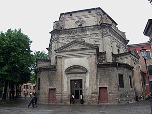 Giovan Battista Aleotti - Church of Santa Maria del Quartiere, Parma.