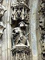 Parnes (60), église Saint-Josse, statuettes du portail 2.jpg