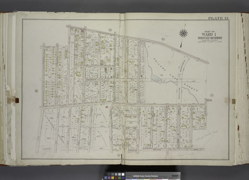 File:Part of Ward 1. (Map bound by Castleton Ave, Forest Ave (Brighton), Greenwood Ave, University PL, Revere Ave (Laurel Ave), Laurel Ave, Bard Ave, Lawrence Ave (Pelton Ave), Davis Ave, Pelton NYPL1646313.tiff