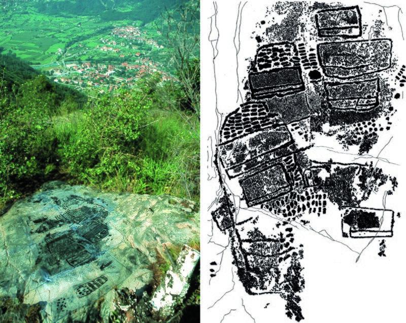Paspardo roccia Vite29 rilievo foto