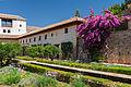 Patio de la acequia in Generalife, Granada, Spain.jpg