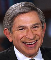 From commons.wikimedia.org/wiki/File:Paul_Wolfowitz_2006.jpg: Paul Wolfowitz