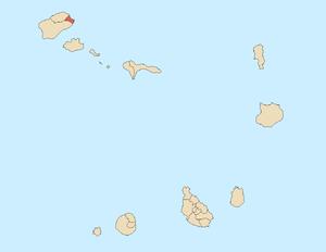 Paul, Cape Verde - Image: Paul county, Cape Verde
