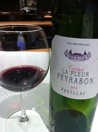 Pauillac AOC - A Cru Bourgeois wine from Pauillac.