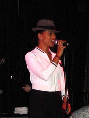 The Selecter - Black with The Selecter in 2005