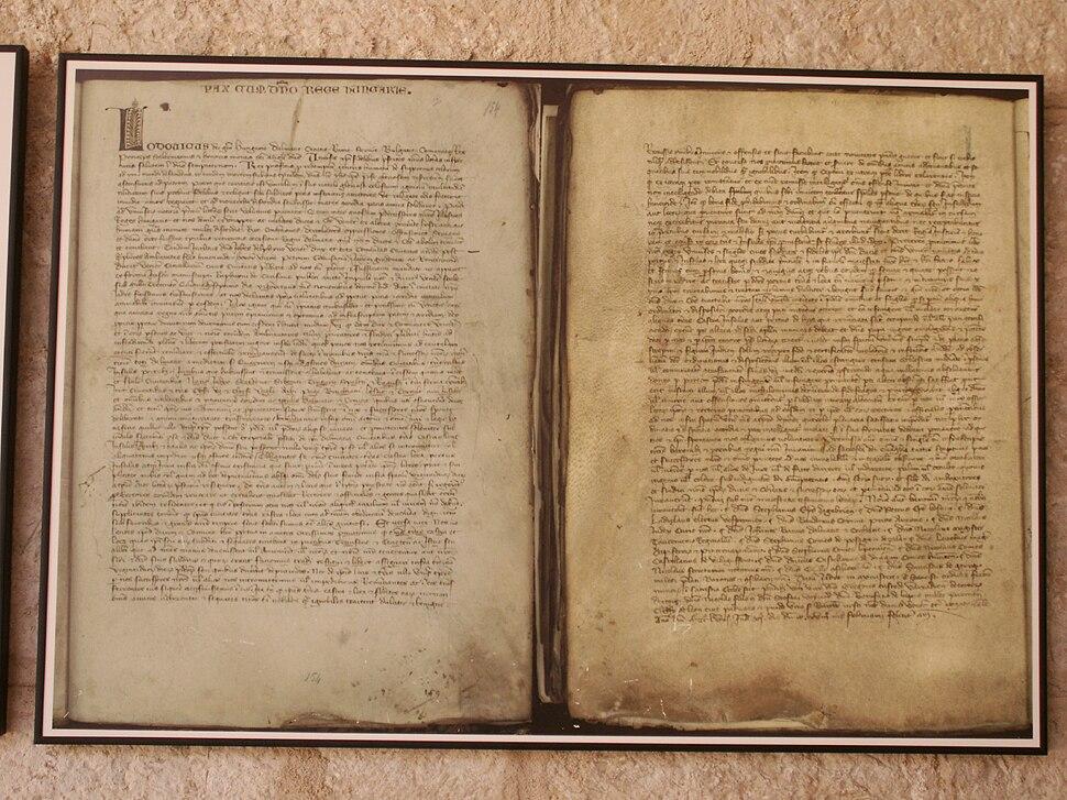Peace-treaty of Zadar 1358