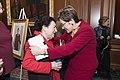 Pelosi honors Kaptur as longest serving woman in House history (25959512957).jpg