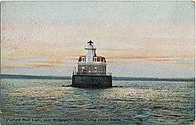 Penfield Reef Lighthouse Postcard 1913.jpg