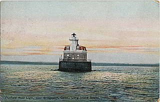 Penfield Reef Light lighthouse in Connecticut, United States