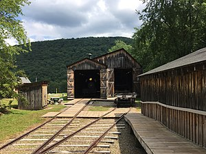 Pennsylvania Lumber Museum - Engine house