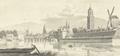 Penseeltekening Zwolle omstreeks 1750.png