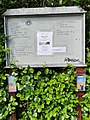 Penzance - Morrab Gardens notice board (August 2020).jpg