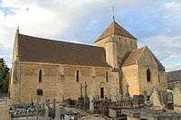 Percy-en-Auge église Saint-Gervais sud.JPG