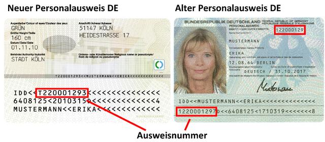 Nationale Identitätsnummer Esta