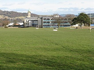Perth Academy - Perth Academy and playing fields