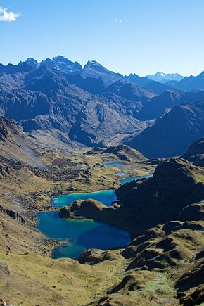 Peru - Lares Trek 051 - looking out from the 2nd pass (7586227950).jpg
