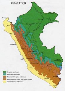 Geography Of Peru Wikipedia