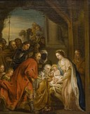 Peter Paul Rubens - Adoration of the Magi - 1887-1-31 - Auckland Art Gallery.jpg