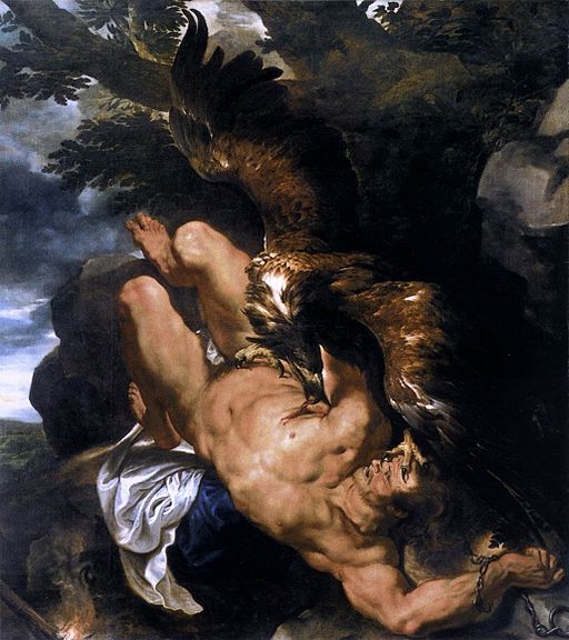 Peter Paul Rubens - Prometheus Bound - WGA20279