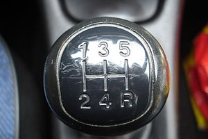 Gear stick - A knob showing the driver the position of each gear.