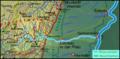 Pfaelzerwaldkarte Flussgebiete Queich.png