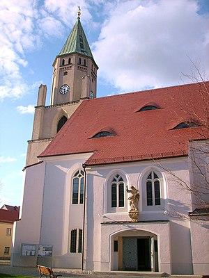Wittichenau - Image: Pfarrkirche Wittichenau 4