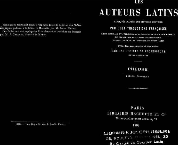 File:Phèdre - Fables juxtalinéaire 1909.djvu