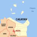 Ph locator cagayan rizal.png