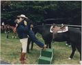 Photograph of The Reagans at Camp David - NARA - 198550.tif