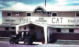 Phù Cát Air Base - Phù Cát base operations building in 1968