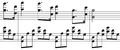 Piano Concerto No. 2, I theme, Prokofiev.png