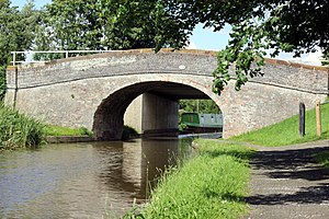 Listed buildings in Stoke, Cheshire West and Chester - Image: Picton Road Bridge
