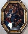 Pier dandini, apparizione di Cristo risorto alla Madonna con angeli e strumenti della Passione, 1690-1710 ca. 2.JPG