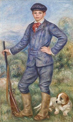 The Rules of the Game - Image: Pierre Auguste Renoir Jean en tant que Chasseur (1910)